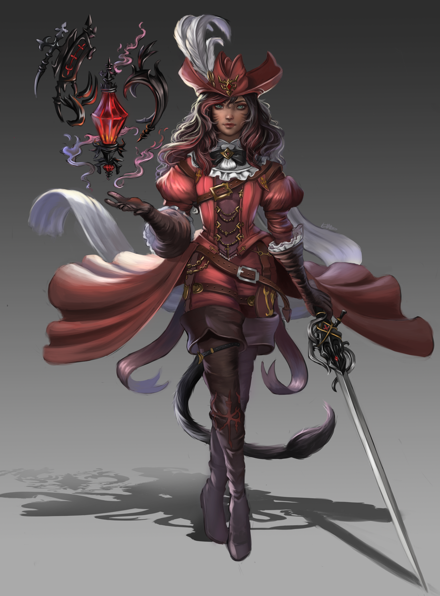 Pathfinder class: Red Mage