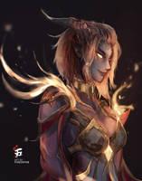 The Birth of Pheta'eras Part Five - The Dress by MorriLeFay