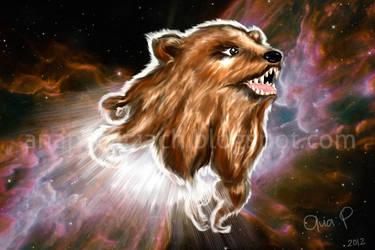 El oso cosmico by anapatriciach