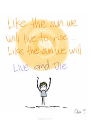 Like the sun by anapatriciach