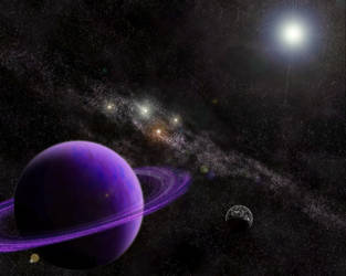 Purple Planet by a-minus