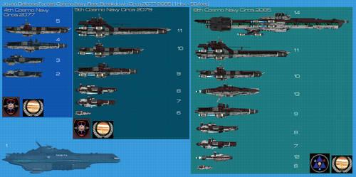 JDF Ship comparison chart by Kodai-Okuda