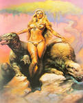 Boris Vallejo's Princess of Mars by Kodai-Okuda