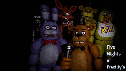 Five Nights at Freddy's Desktop Background by nightmarefoxypirate0