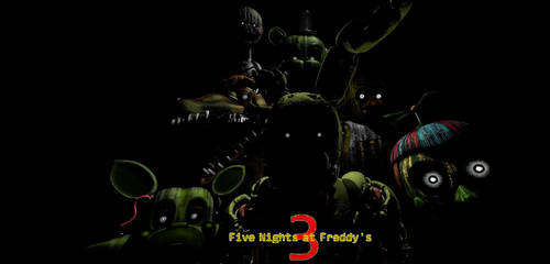 Five Nights at Freddy's 3 Desktop Background by nightmarefoxypirate0