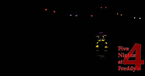 Five Nights at Freddy's 4 Desktop Background by nightmarefoxypirate0