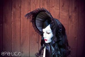 Black x Gray Bonnet 2 by apatico