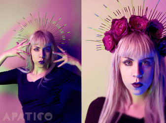 Virgin Mary  Crown Headdress by apatico