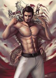 Dojima's Dragon by Beverii