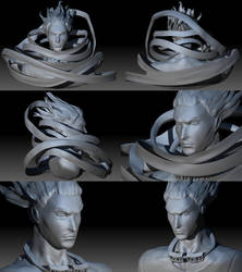 Eraserhead Sculpt by Beverii