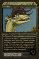Gold Dirt - DA Trading Card by SageKorppi