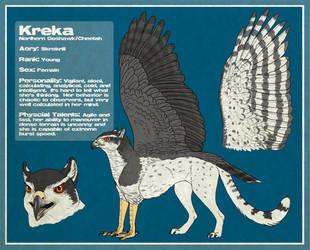 Kreka - Character Sheet by SageKorppi