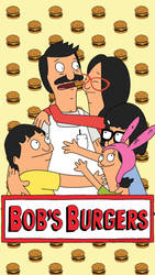 Bob's Burgers iphone 5 wallpaper by BrittanyEffect