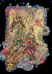 PC: Nahalanee and Zevran by kejtTENSHA