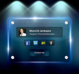 Contact Page Design [V1] by Jambazov