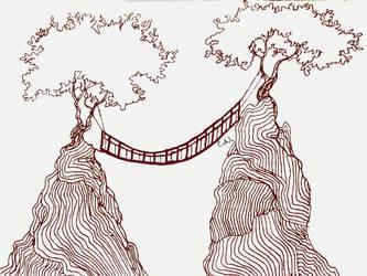 How do bridges work? Inktober #12 by EleLibe