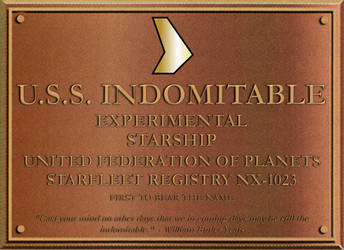 USS Indomitable (NX-1023) by RevancheRM