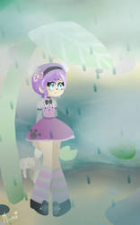 rainy weather by PeacefulSweetDream