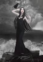 Lady Raven by darkangelofpain