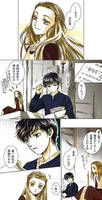 Edmund and Lucy Pevensie anime by spacialcreek