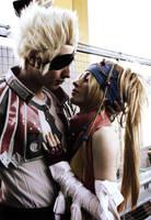 Rikku x Gippal kiss by CrazyRikku92