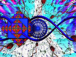 tickertape dreamscape by ChasMandala