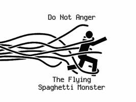 Flying Spaghetti Monster by CpnHowdie