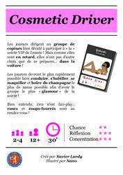 Panneau Cosmetic Driver by XavierLardy