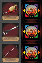 Barbecue - Accessory Cards 4 / 4 by XavierLardy