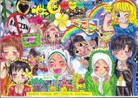 interfaith tolerance contest by UkoUsadaKuroiki