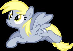 Derpy Flying Vector #2 by GreenMachine987
