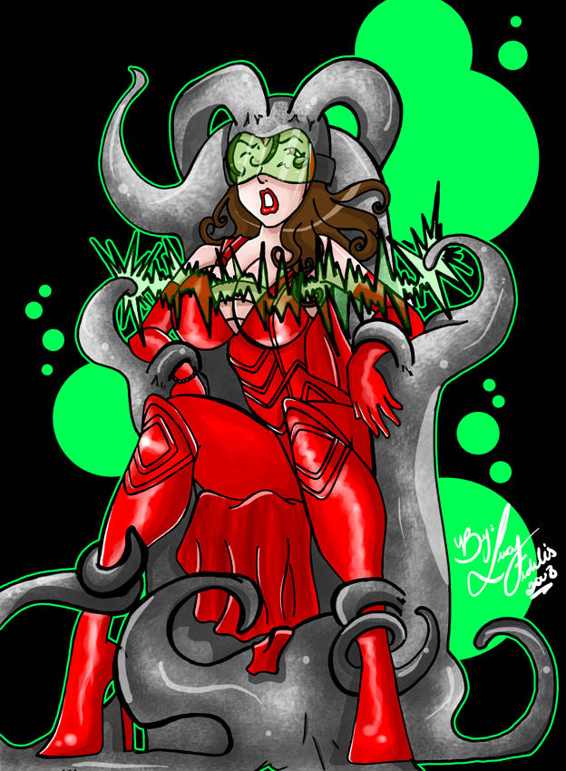 Scarlet Witch  mind implanter by singory