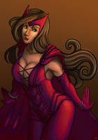 Scarlet Witch by funeralwind by singory