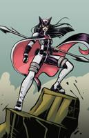 Huntress Cobra Agent by eryckwebbgraphics by singory