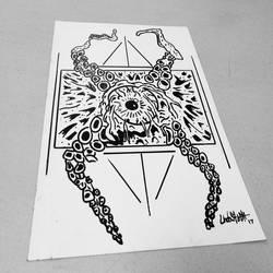 Work Doodle #2 by Undastench