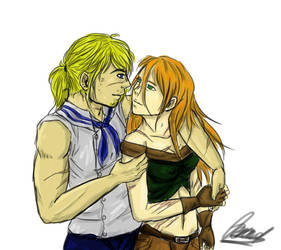 Dave and Tora by Coeur2Verre