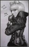 Lady GaGa by mcglory