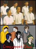 Creepypasta's Chorus by YouZaiiii