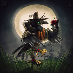 OC chimera_Beak the Crow by Dik-LEN-vaY