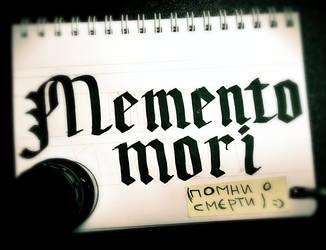 Memento mori by Dik-LEN-vaY