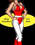 Sexy Aerobics Art Jam Logo by ImfamousE