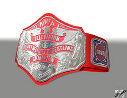 The Red Strap NWA Television Title by ImfamousE