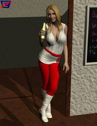 Terri's At The Pub by ImfamousE