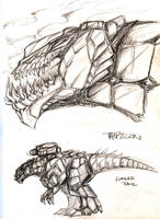 TFC - Trypticon sketches by BHS-ArchetypeRex