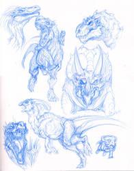 Dinosaurs by BHS-ArchetypeRex
