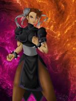 Evil Chun-li by williansb