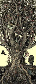 under the heart-tree by bubug