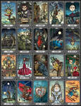 The Dark Mansion Tarot by bubug