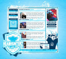 Headhunterz Layout by ruudvaneijk