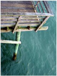 bogue inlet pier by twistandshout